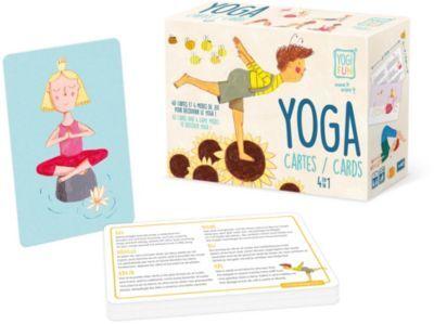 Buki Jeu BUKI Jeu de Yoga 4 en 1