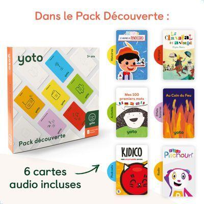 Yoto Jeu YOTO Pack Découverte 6 cartes