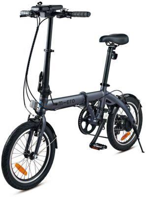 Micro Mobility Vélo VAE MICRO MOBILITY E-Bike noir
