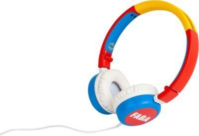 Faba Casque Enfant FABA Headphones WD Rouge