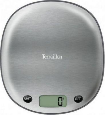 Terraillon Balance TERRAILLON Macaron Inox Réglisse