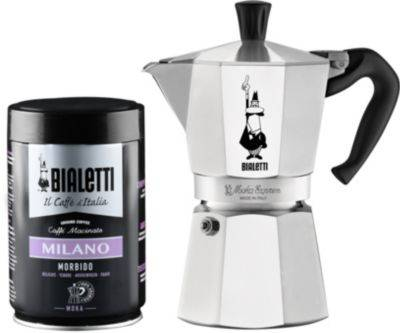 Bialetti Set BIALETTI cafetiere 6 tasses + cafe m
