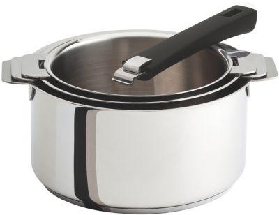 Cristel casseroles CRISTEL Set de 3 amovibles 16