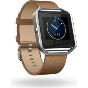 Fitbit Accessoire FITBIT CUIR BLAZE CAMEL L - Publicité