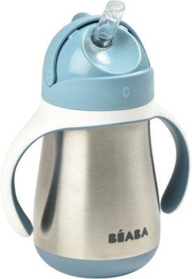 Beaba Tasse BEABA paille inox 250 ml - Windy b