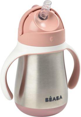 Beaba Tasse BEABA paille inox 250 ml - old pin