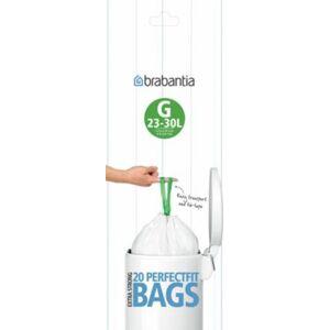 Brabantia Sac poubelle BRABANTIA 23-30L - 20 sacs - Publicité