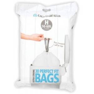 Brabantia Distributeur BRABANTIA 40-50L- 30 sacs - - Publicité