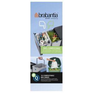 Brabantia Sac poubelle BRABANTIA 18L biodégradable - Publicité