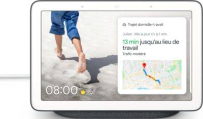 Google Assistant vocal GOOGLE Nest Hub Charbon