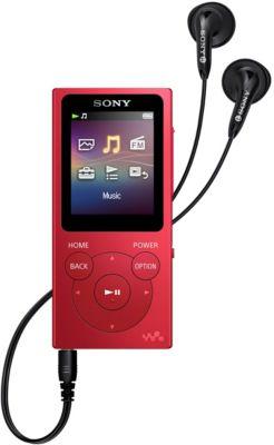 Sony Bal. MP3 SONY NWE394R 8Go Rouge