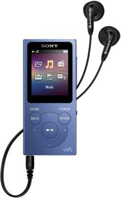 Sony Bal. MP3 SONY NWE394L 8Go Bleu