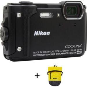 Nikon Compact NIKON Coolpix W300 Noir + Sac ét - Publicité