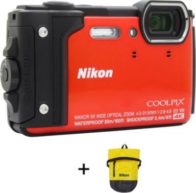 Nikon Compact NIKON Coolpix W300 Orange + Sac