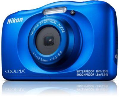 Nikon Compact NIKON COOLPIX W150 Bleu + Sac à