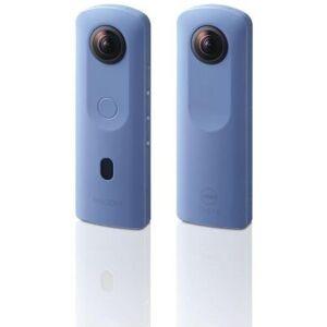 Ricoh Caméra 360° RICOH Theta SC2 Bleu - Publicité