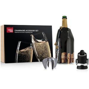 Vacuvin Coffret VACUVIN accessoires à champagne - Publicité