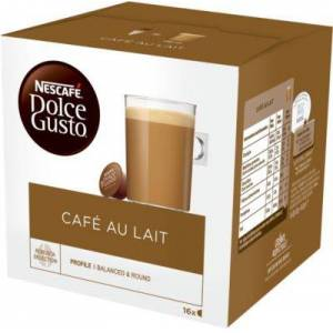 Nestle Dosette NESTLE Nescafé Café au lait Dolc - Publicité