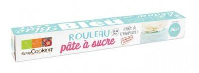 Scrapcooking Pâte à sucre SCRAPCOOKING rouleau bleu c