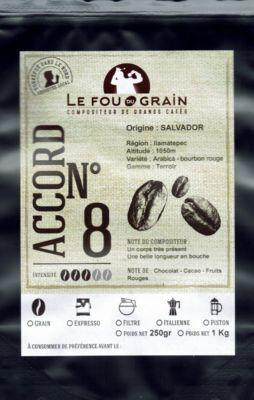 Le Fou Du Grain Paquet café LE FOU DU GRAIN SALVADOR