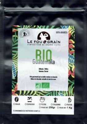 Le Fou Du Grain Paquet café LE FOU DU GRAIN GUATEMALA BI