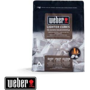 Weber Pack WEBER de 22 cubes allume-feux blanc - Publicité