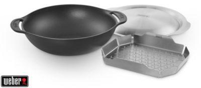 Weber Wok WEBER en fonte acier Gourmet BBQ Sys