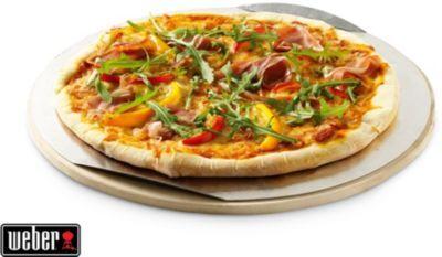 Weber Plaque à pizza WEBER Ronde - 26cm - univ