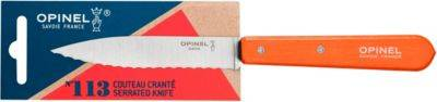 Opinel Couteau OPINEL Crante No113 mandarine