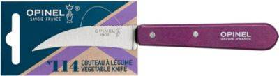 Opinel Couteau OPINEL a Legumes No114 aubergine