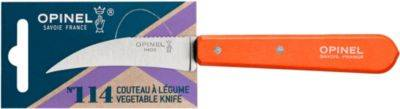 Opinel Couteau OPINEL a Legumes No114 mandarine