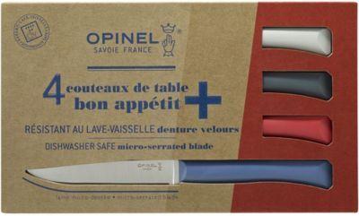 Opinel Couteau OPINEL de table x4 Primo bleu ro
