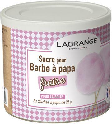 Lagrange Sucre LAGRANGE Sucre Barbe à papa fraise