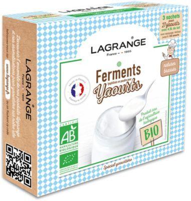 Lagrange Ferments LAGRANGE BIO nature pour yaourt