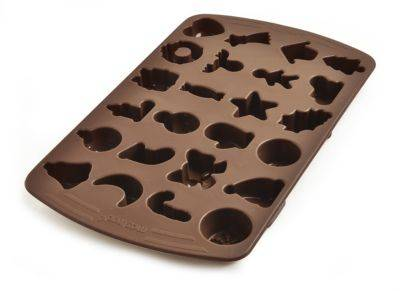 Mastrad moule MASTRAD chocolats 24 formes assort