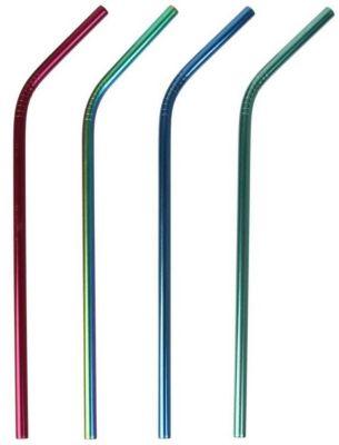 Cook Concept PAILLE COOK CONCEPT inox colorees x4