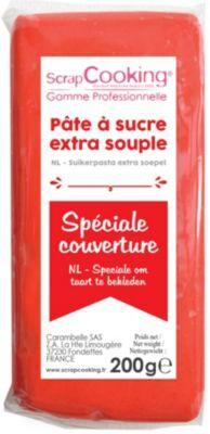 Scrapcooking Pâte à sucre SCRAPCOOKING couverture Rou