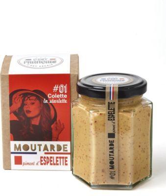C'est Francais Moutarde C'EST FRANCAIS piment d'espelet