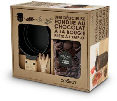 Cookut COFFRET COOKUT fondue chocolat noir