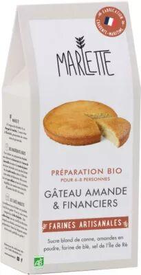 Marlette Preparation MARLETTE Bio pour Gateau ama