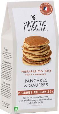 Marlette Preparation MARLETTE Bio pour Pancakes e
