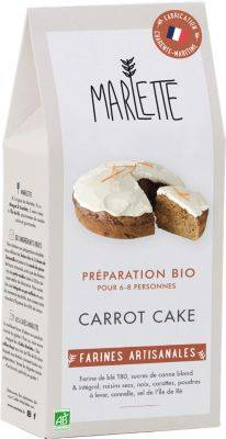 Marlette Preparation MARLETTE Bio pour Carrot Cak