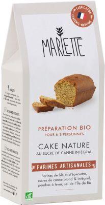 Marlette Preparation MARLETTE Bio pour Cake Natur
