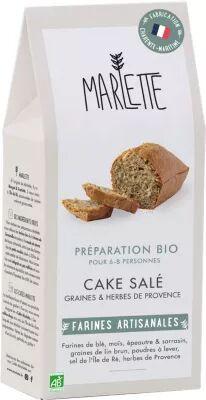 Marlette Preparation MARLETTE Bio pour Cake Sales