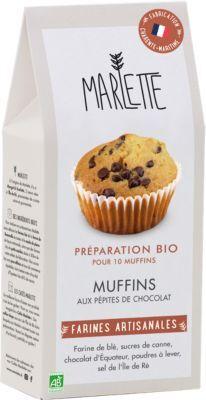 Marlette Preparation MARLETTE Bio pour Muffins au