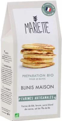 Marlette Preparation MARLETTE Bio pour Blinis mai