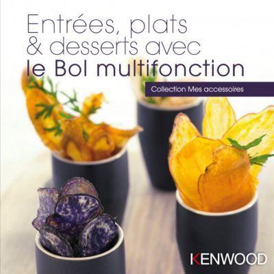 Kenwood Livre KENWOOD Entrées, plats, desserts a
