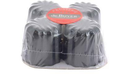 De Buyer moule DE BUYER a cannelés x4 4718.05
