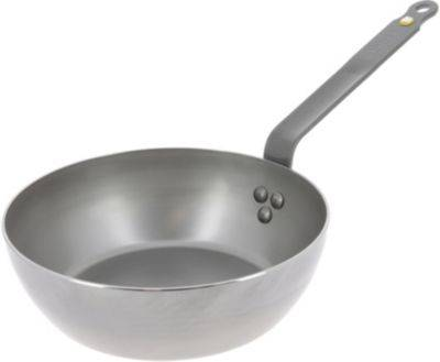 De Buyer Poêle wok DE BUYER Paysane 24 cm Mineral