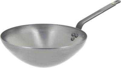 De Buyer Poêle wok DE BUYER Mineral B 28 cm